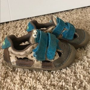 Stride Rite Cookie Monster sandal